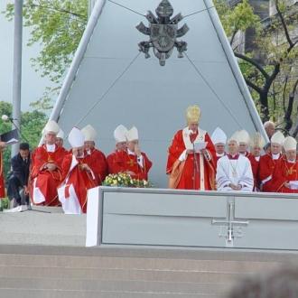 Papież Benedykt XVI w Warszawie