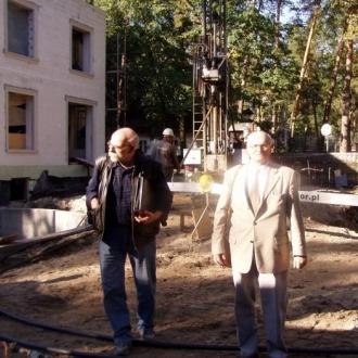 Wiercenia pod pompę ciepła w Konstancinie Jeziorna