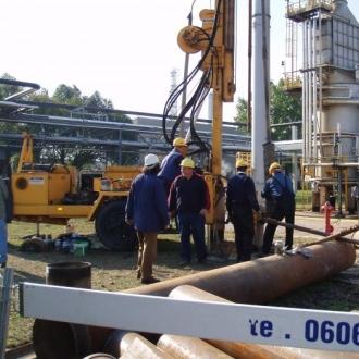 Hydrogeologiczne wiercenie badawcze w Płocku