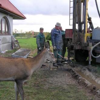 Wiercenia w miejscowości USTKA
