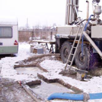 Wiercenie studni głębinowej dla firmy CRL w miejscowości Zwoleń Głębokość 50m