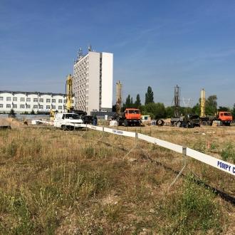 IKEA Bydgoszcz - wykonanie otworów wiertniczych celem wykorzystania ciepła Ziemi